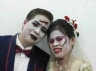 عکس هایی از مراسم عروسی شیطان پرستان
