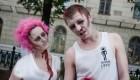مراسم ازدواج عجیب و ترسناک یک دختر و پسر + عکس
