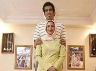 درگیری فیزیکی حامد حدادی و همسرش در آمریکا + عکس