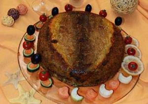 آموزش درست کردن ته چین ماهی