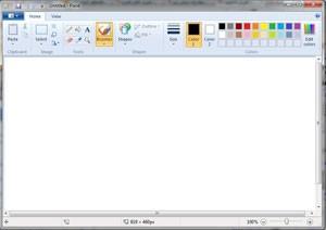 ذخیره سریع عکس ها با فرمت دلخواه در نرم افزار Paint