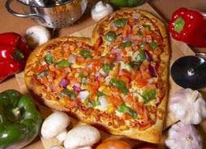 آموزش درست کردن پیتزا قلب