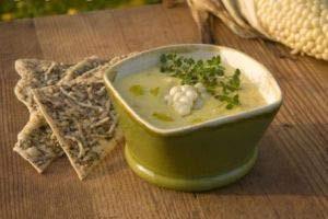 آموزش درست کردن سوپ قارچ و اسفناج