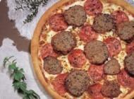 پیتزا گوشتی لذیذ