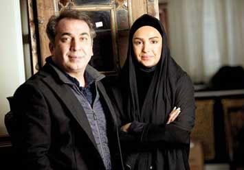 مصاحبه با سیامک انصاری و خانم اش (عکس)