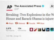 زخمی شدن اوباما !!!