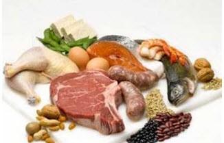 مرغ، ماهی و گوشت سالم و تازه یا فاسد