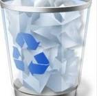 قایم کردن سطل زباله در desktop
