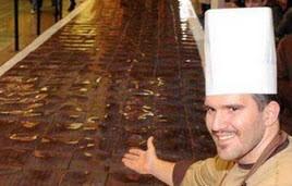 یکی از رکوردهای گینس (شکلات)