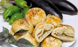 طپخ  کلوچه بادنجان کبابی نرم و لطیف