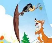 طنز خنده دار کلاغ و روباه ( ورژن جدید)