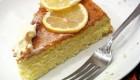 کیک با طعم لیمو