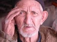 خستگی و پیری در چشمها نمایان میشود