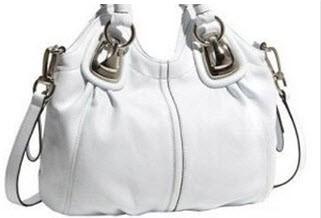 چگونگی تمیز کردن کیف سفید چرمی