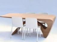 پاک کردن گردوغبار روی  میزهای چوبی بدون روکش