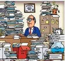 نکاتی برای داشتن یک دفتر کار تمیز و مرتب