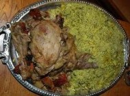 طپخ باقالی پلو با ماهیچه