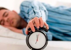 کمتر از این ساعت زمانی نخوابید