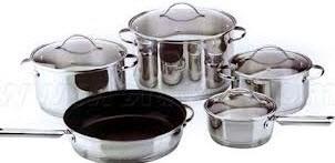 ظروف استیل را به آسانی  براق کنید