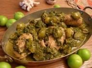 طپخ خورش گوجه سبز