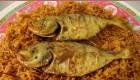 طرز تهیه السمك الصیادیة (غذای عربی)