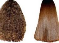 روش بی خطر برای صاف کردن موهای مجعد