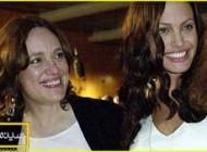 آنجلینا جولی در نقش مادرش بازی می كند! (عکس)