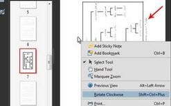 ترفندی برای تغییر حالت افقی بودن صفحه در  Acrobat Reader