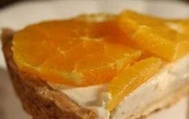 تهیه شیرینی تارت پرتقال
