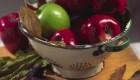 علت برق زدن بعضی میوه ها