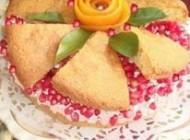 درست کردن کیک انار مخصوص شب یلدا