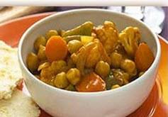 تهیه خوراک کاری سبزیجات رژیمی