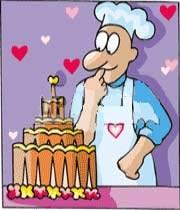 کیک عروسی باید تک باشد