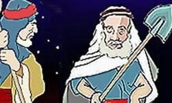 حکایت ضرب المثل بیلش را پارو کرده