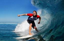 آشنایی یا ورزش آبی ،موج سواری با کمک کایت