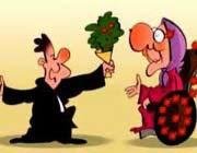 ازدواج مردهای سن پایین  با زنهای میانسال