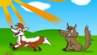 داستان بچه گانه روباه و پوستین