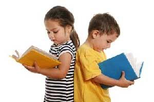 كوچولوی ما اهل درس خواندن نیست!