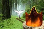 شکل ظاهری شیطان در زمان فریب دادن آدم و حوا