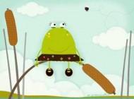 قصه های جالب و کودکانه ی  قورباغه ای به نام سبزک
