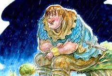 داستان کودکانه ی خانم غول و آقا غول