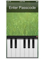 با نواختن پیانو قفل گوشی آیفون خود را باز کنید