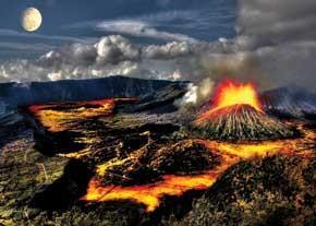 عوامل مورد بررسی در پیشبینی وقایع آتشفشانی