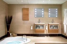 دکوراسیون شیک مخصوص حمام های نقلی