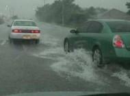 نحوه ی رانندگی هنگام بارش شدید باران