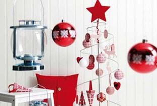 دکوراسیونی مخصوص کریسمس با کمترین هزینه