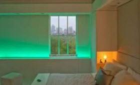 ترفندی برای استفاده از لامپ های LED  برای زیبا سازی خانه