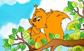 قصه کودکانه ی نی نی سنجابها
