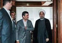 شوخی  روحانی با احمدی نژاد که خالی از معنی نبود