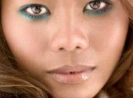 آرایش مشکی ویژه افراد سبزه